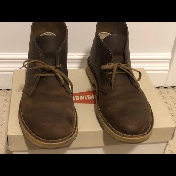 Clark's dress/causal boots